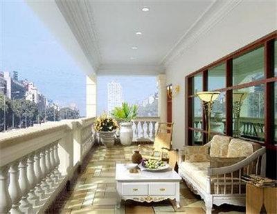 生活阳台装修效果图 生活阳台接近自然的空间
